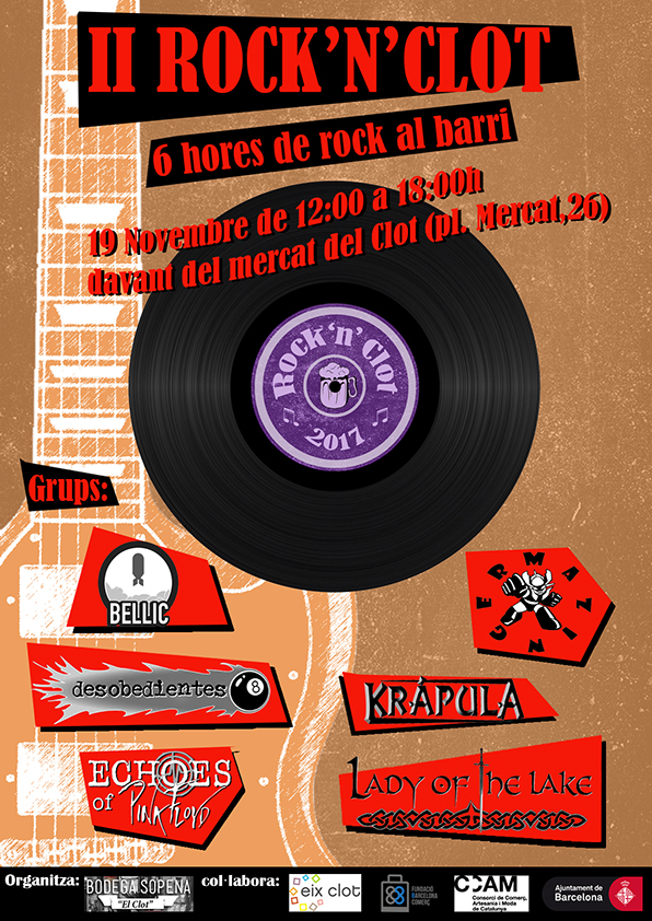 Rock & Clot por Fiesta Mayor