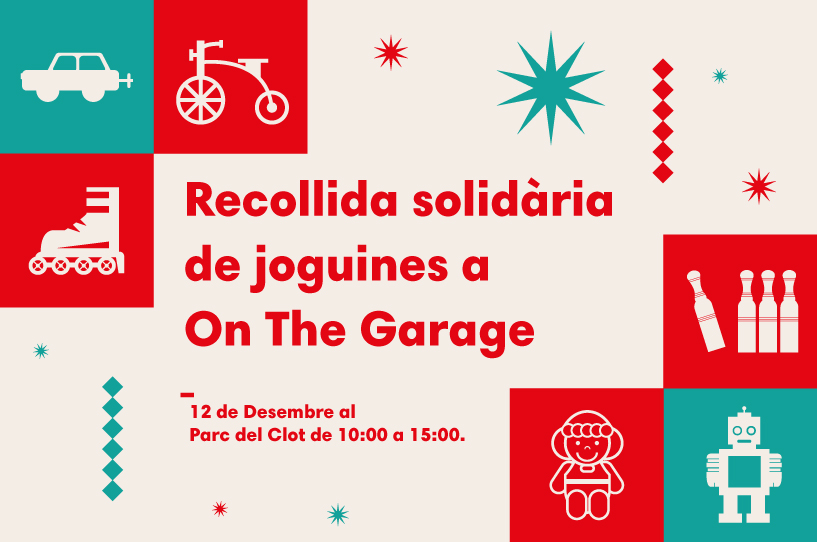 Recollida Solidària de Joguines a On The Garage