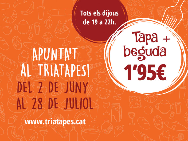 Triatapes, el teu regal a partir del 8 d'agost